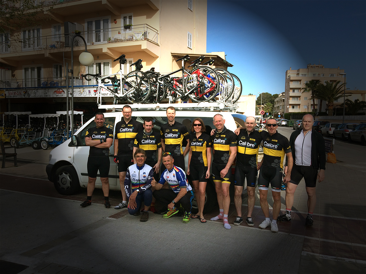 van for a cyclist to visit sa colobra on bike