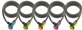 Cable antirrobo Onguard Neon 180cm, Ø 12mm