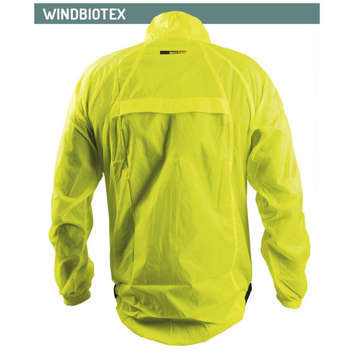 Cortavientos e impermeable Biotex Ultralight blanco  S