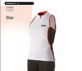 Maillot Tactic sin mangas Mujer Star T:M