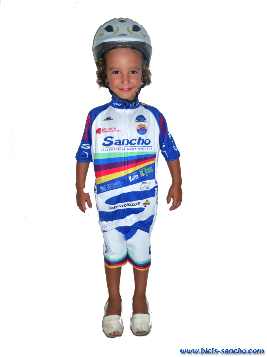 Bibshort KID Sancho Team Royal Blue